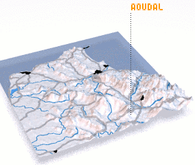 3d view of Aoudal