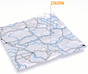 3d view of Ziazna