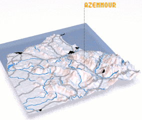 3d view of Azemmour