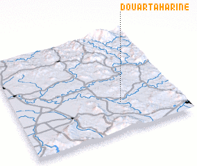 3d view of Douar Taharine