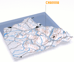 3d view of Chaouia