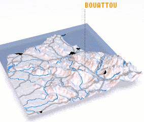 3d view of Bouattou