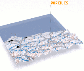 3d view of Porciles