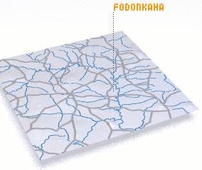 3d view of Fodonkaha