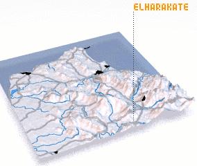 3d view of El Harakate