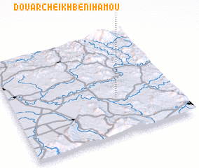 3d view of Douar Cheïkh Beni Hamou