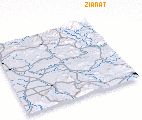 3d view of Zianat