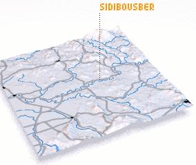 3d view of Sidi Bousber