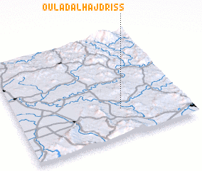 3d view of Oulad al Haj Driss