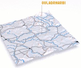 3d view of Oulad Rharbi