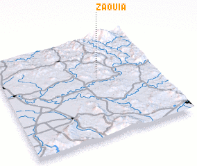 3d view of Zaouia