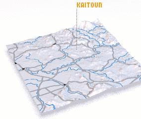 3d view of Kaïtoun