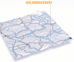 3d view of Ouled Bouzekri