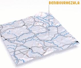 3d view of Beni Bou Rhezala
