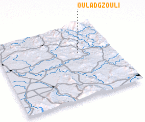 3d view of Oulad Gzouli