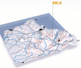 3d view of Bala