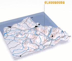 3d view of El Kouaoura