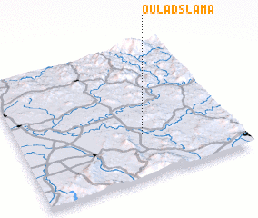 3d view of Oulad Slama