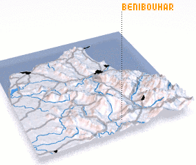 3d view of Beni Bouhar