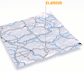 3d view of El Amour