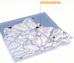 3d view of Aourarhene