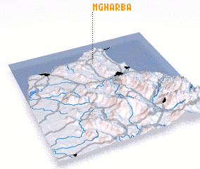 3d view of Mgharba