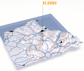 3d view of El Ouas