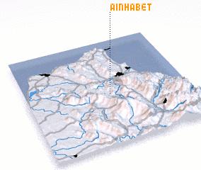 3d view of Aïn Habet