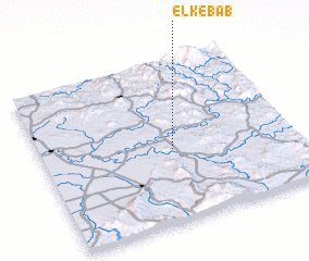 3d view of El Kebab