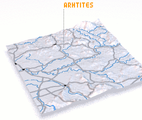 3d view of Arhtites