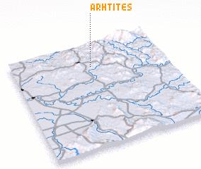 3d view of Arhtites