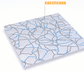 3d view of Kakonkaha