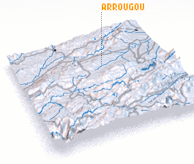 3d view of Arrougou
