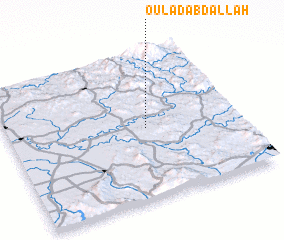 3d view of Oulad Abdallah