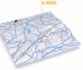 3d view of El Mirón
