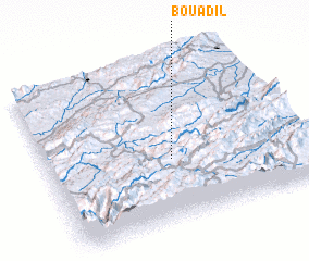 3d view of Bou Adil
