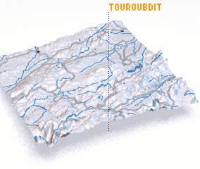 3d view of Touroubdit
