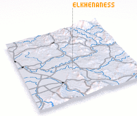 3d view of El Khenaness