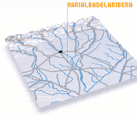 3d view of Marialba de la Ribera