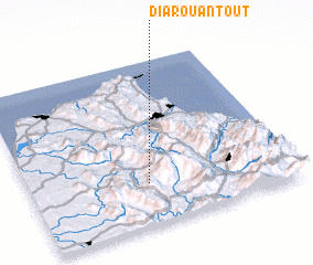 3d view of Diar Ouantoût