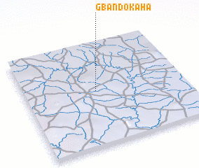 3d view of Gbandokaha