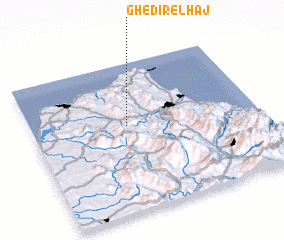 3d view of Ghedir el Haj