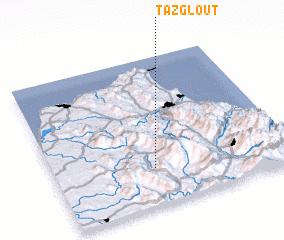 3d view of Tazglout