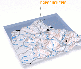 3d view of Dar ech Cherif
