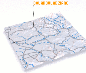 3d view of Douar Oulad Ziane