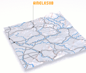3d view of Aïn el Ksob