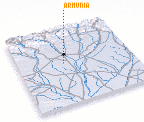 3d view of Armunia