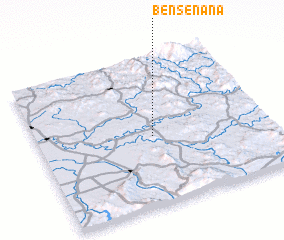 3d view of Ben Senana