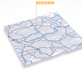 3d view of Bou Srour