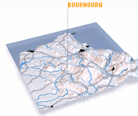 3d view of Bou Khoura